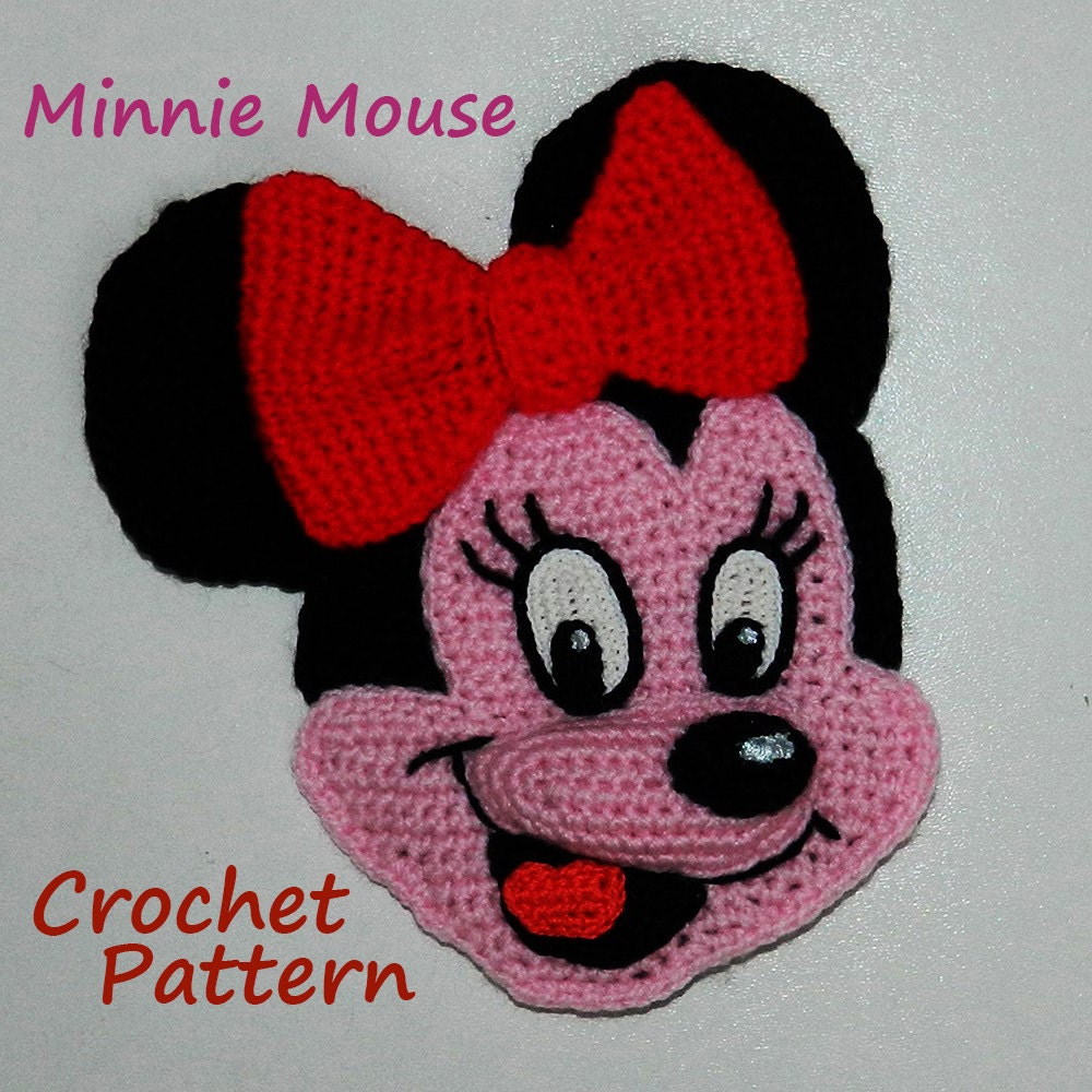 Crochet Patterns For Minnie Mouse : Item Details