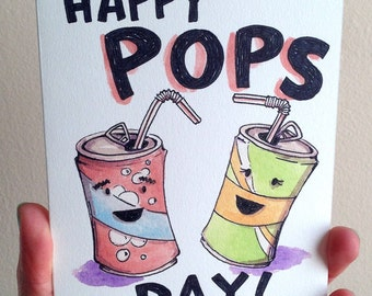 Happy Pop's Day! Happy Father's Day Dad Card
