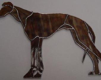 Stained Glass Greyhound