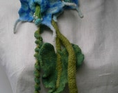 Morning glory, garden scarf