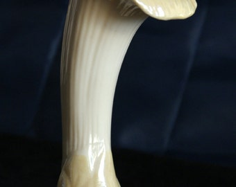 Vintage Belleek  Bone China Flower trumpet Vase