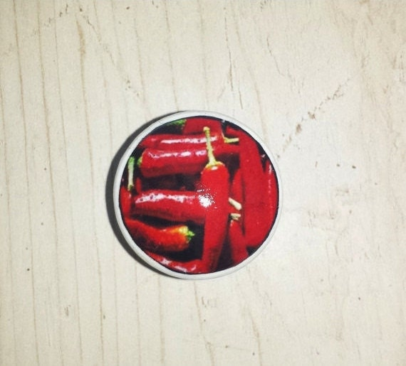 kitchen cabinet knob red chile peppers by