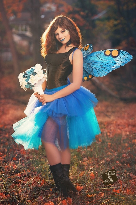 Fantasy butterfly wings - photo#13