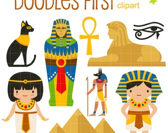 Clip Art Egypt Clipart egypt clip art etsy ancient digital for scrapbooking card making cupcake toppers paper crafts