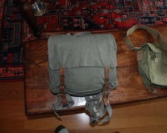 Vintage Yugoslavian Military Backpack