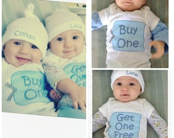 Twin Bodysuits - Buy One Get One Free!
