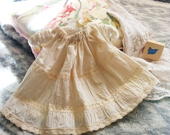 6 12 months size Baby Girl Skirt Refashioned by TastefulTikes