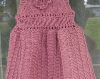 Pink Little Party Dress ( was NZD76.00. but because of colour variation its 1/2 price)