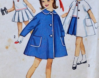 Simplicity - 4365// Child Dress pattern // Girls // vintage pattern