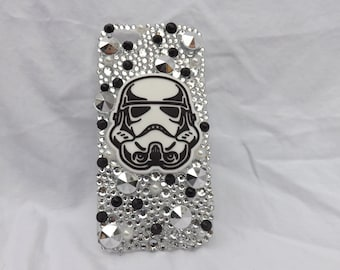 Storm Trooper Bejewelled iPhone 5/5s case