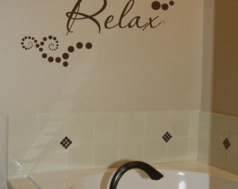 Relax-with Polka Dots