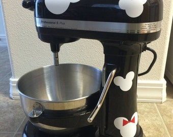 Mickey and Minnie Kitchen Aid Decals