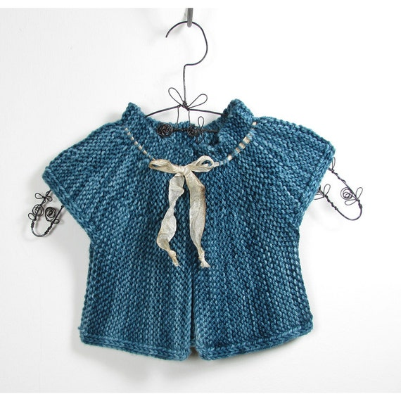 Baby Knitting Pattern - London Baby Cardigan - Easy ...