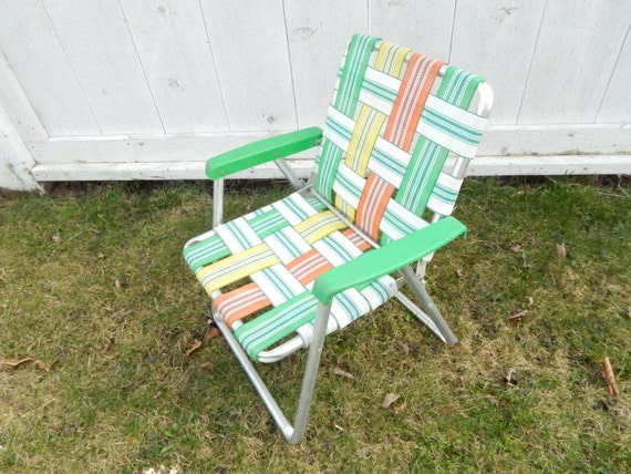 1960 S Vintage Aluminum Lawn Chair Child S Youth