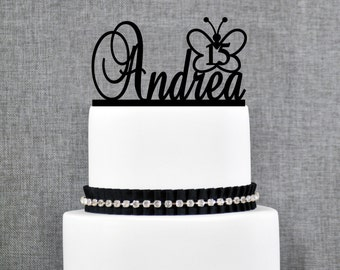 Personalized Birthday Cake Topper by Chicago Factory- (T091)