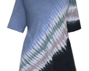 Plus Size Tie Dye Top | Woman's Tunic Tops | Plus Size Women's Clothing in XL 1x 2x 3x, Clothes for the Full Figure Woman