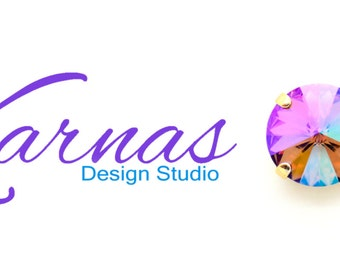 AMETHYST PURPLE HAZE 12mm Crystal Rivoli Stud or Post Earrings *Pick Your Finish *Karnas Design Studio *Free Shipping