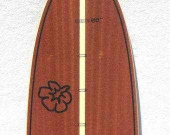 Woody Dark Surfboard-shaped growth chart