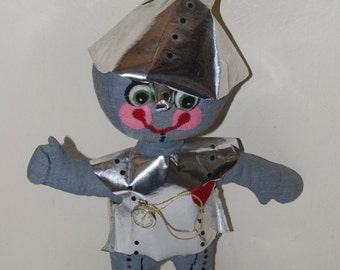 Tin Man from Wizard of Oz Plush Cloth Doll