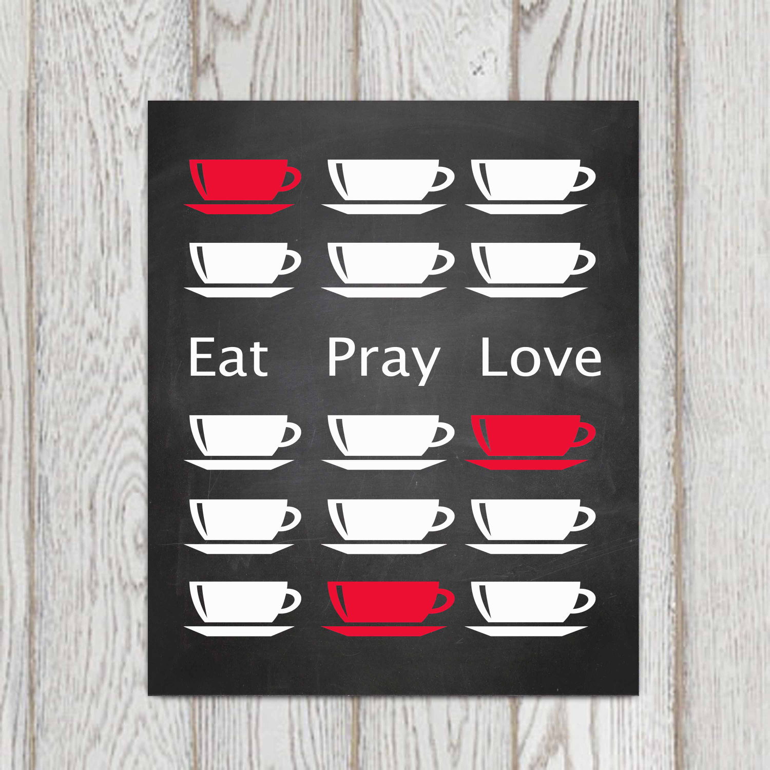 Eat Pray Love Kitchen Decor