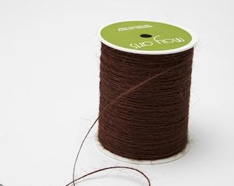 Brown String Burlap Ribbon - 20 Yards