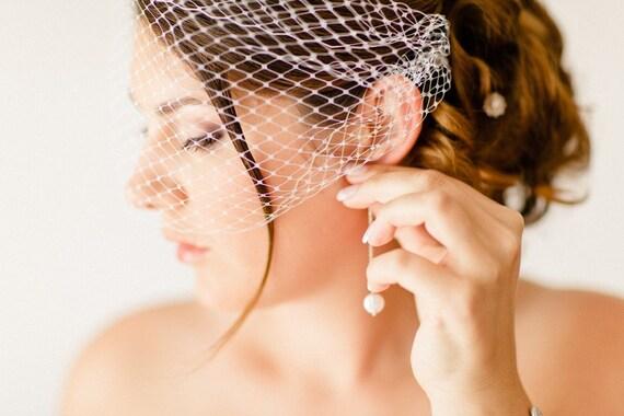 Voilette mariage rétro vintage, accessoire de coiffure, bijoux de ...