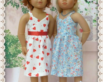 "Strapz 'n' Wraps Sun dress for Slim 18"" Dolls"