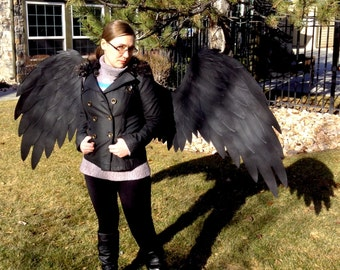 Large Vulture Cosplay Wings - Made to Order