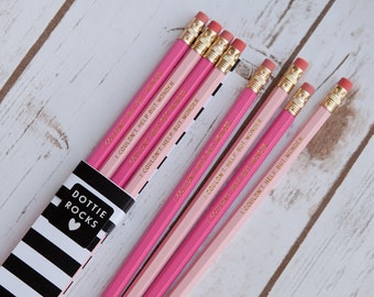 I Couldn't Help But Wonder, Carrie Bradshaw, Set of 6 Pencils - SATC