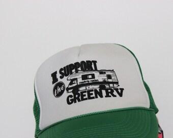 Green RV Trucker Hat