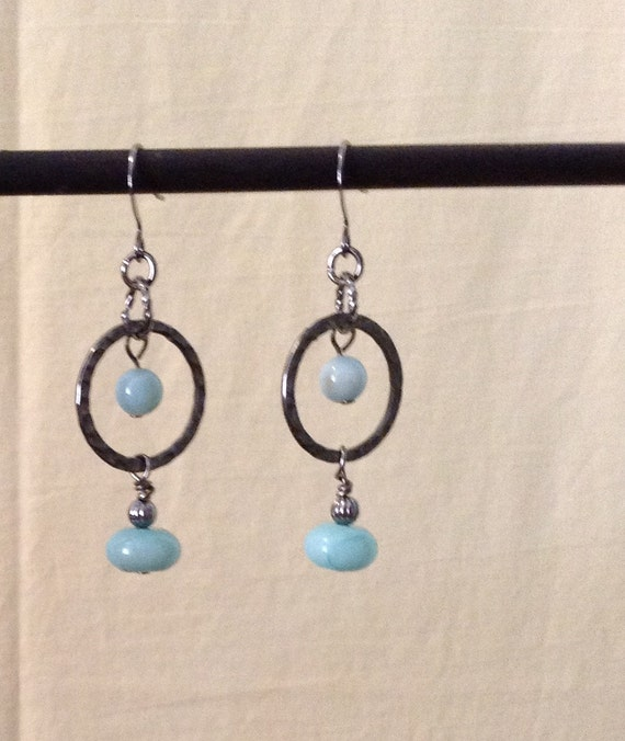 Amazonite Earrings E6151760