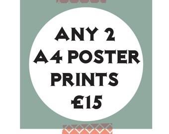 X2 A4 Print Offer