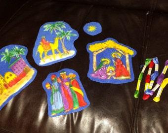 Kids Soft Nativity Kit