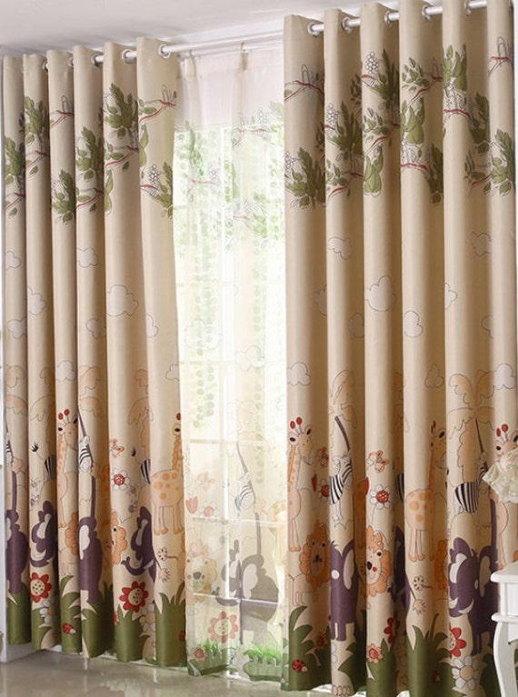 of Custom Curtain Panels Triple Woven Fabric 70-80% Light Blocking ...