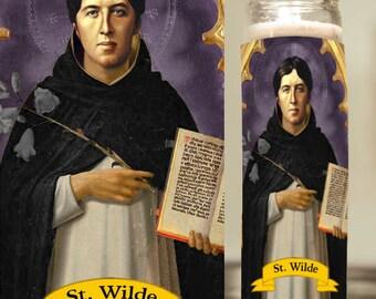 Oscar Wilde Prayer Candle