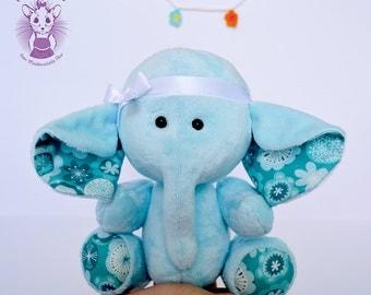 Soft toy elephant/softie/pluh toy/newborn soft toy