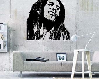 Bob Marley Reggae Music Vinyl Wall Sticker Decal 22 Part 74