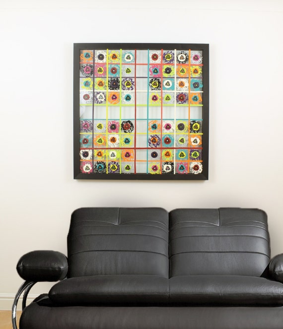 Retro Wall Art retro wall art music wall art large wall art original