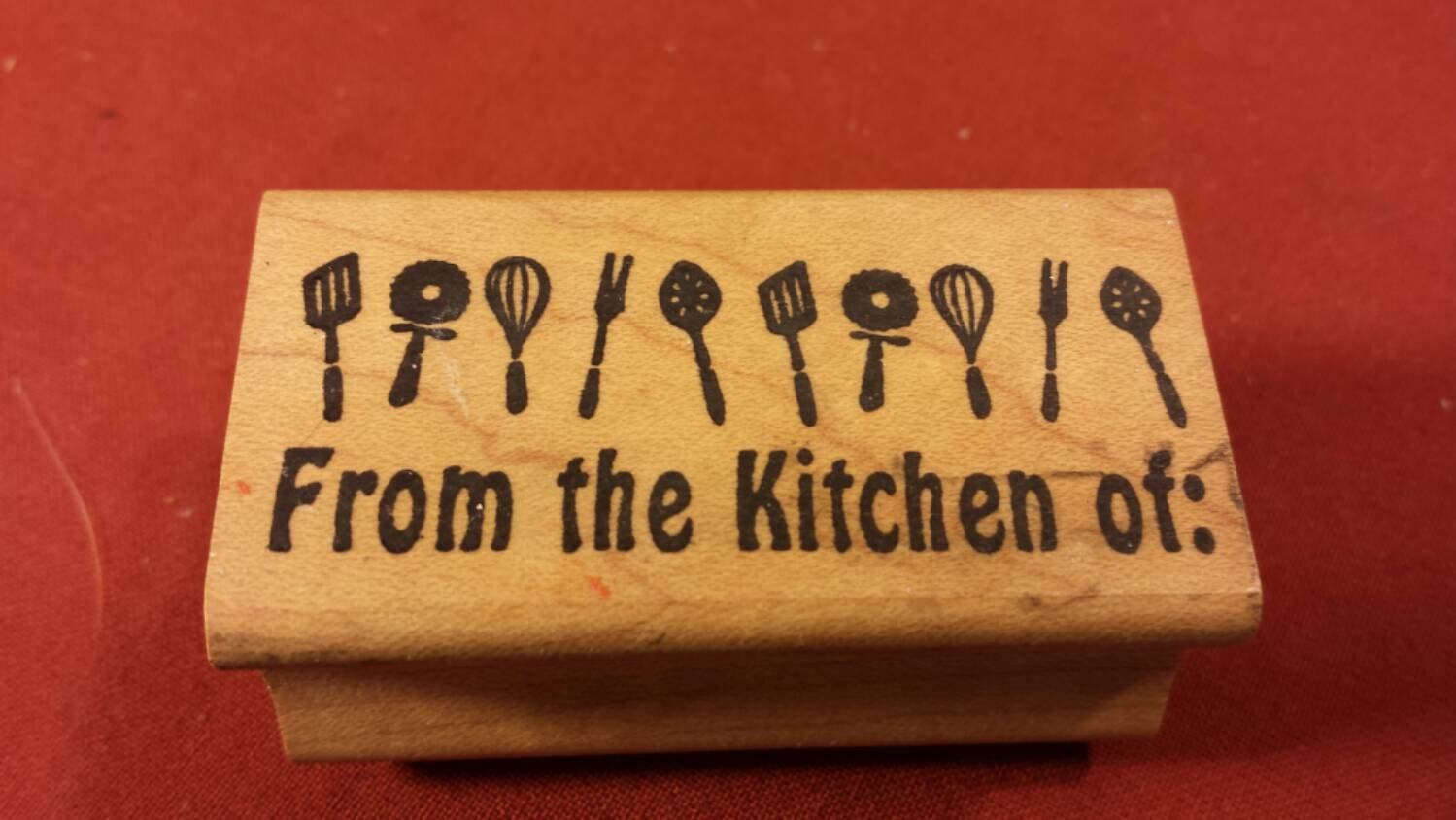 From The Kitchen Of Rubber Stamp From The Stamp Pad Company
