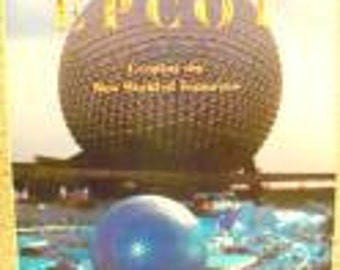 Reduced: Vintage Walt Disneys EPCOT-Creating the New World of Tomorrow FIRST EDITION  by Harry N. Abrams - 1982
