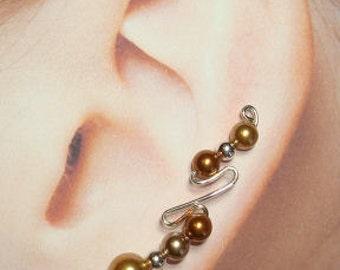 Climbing Earrings - Double Hook Style Custom Made
