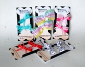 Dog Hair Bows - Colorful Dog Hairbows - Set of 2 - Dog Grooming Bows - Dog Accessories
