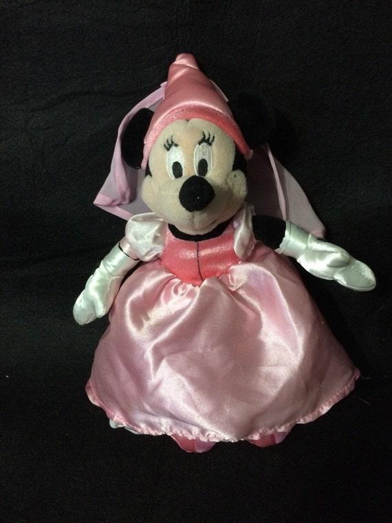 Disney Minnie Mouse Pink Princess Sleeping Beauty 10