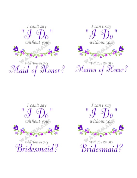 Terrible image regarding i can't say i do without you free printable