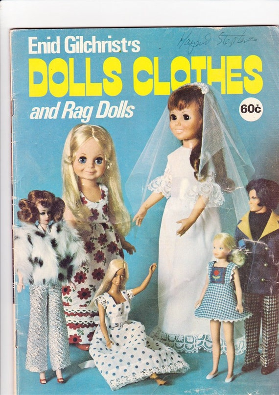 Vintage Dolls Clothes Clothes 1970s Vintage