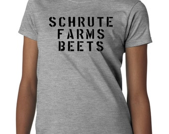 Schrute Farm Beets Tshirt - The Office Inspired