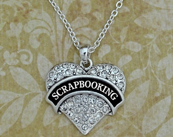 Scrapbooking Necklace