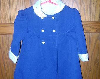 Infant Girls Dress Coat