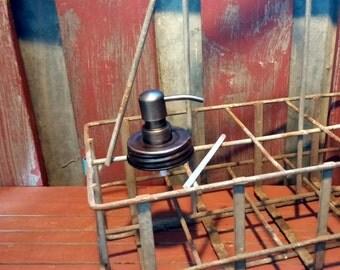 Mason Jar Soap Dispenser | DIY Ball Mason Jar Soap Dispenser | Bronze Soap Pump | Eco | Mason Jar Accessories | Housewarming Gift | Eco |