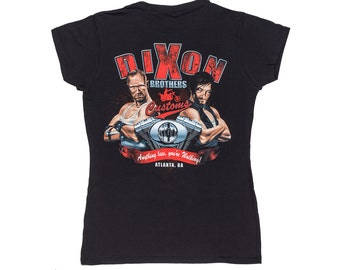 Womens Dixon Brothers Customs Zombie T Shirt